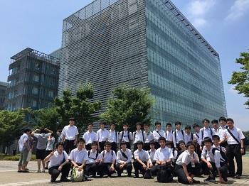理科 中3 東京大学大学院 新新領域創成科学研究科見学 – 海城中学高等学校