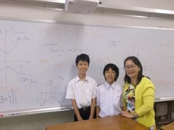 ダシバット先生と数学部