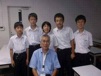 大関先生と数学部