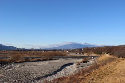 IMG_1310釜無川の信玄堤(1)