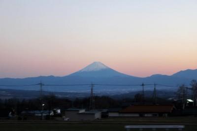 IMG_1351(夕暮れの富士山)(1)