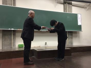 日本古生物学会_表彰