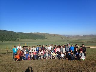 新モンゴル学園の皆様と共に