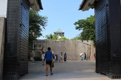 IMG_3760 大阪城・大手口桝形石(1)