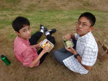 色々な生徒のお弁当を見せてもらいました。