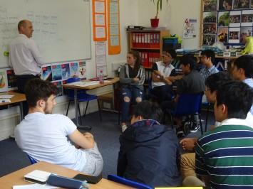 このクラスでは単語の解説がされていました。