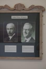 ノーベル化学賞と経済学賞の受賞者、だそうです。