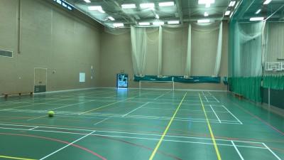 モーバン・カレッジ内スポーツ施設の体育館