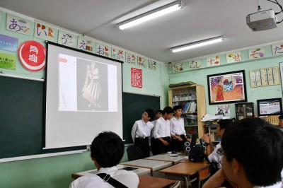 日本の遊びの発表